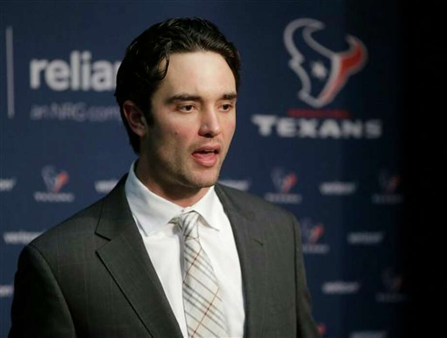 The Houston Texans were desperate to find a franchise QB so they lured Brock Osweiler away from Denver by giving him a $72 million contract last year. He flopped.Keep clicking to see immediate meme reactions to Osweiler being traded to Cleveland. Photo: Steven Senne, STF / AP