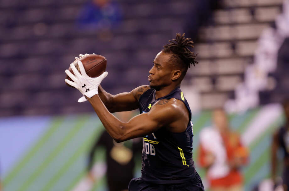Houston defensive back Howard Wilson runs a drill at the NFL football scouting combine Monday, March 6, 2017, in Indianapolis. (AP Photo/David J. Phillip) Photo: David J. Phillip, Associated Press / Copyright 2017 The Associated Press. All rights reserved.