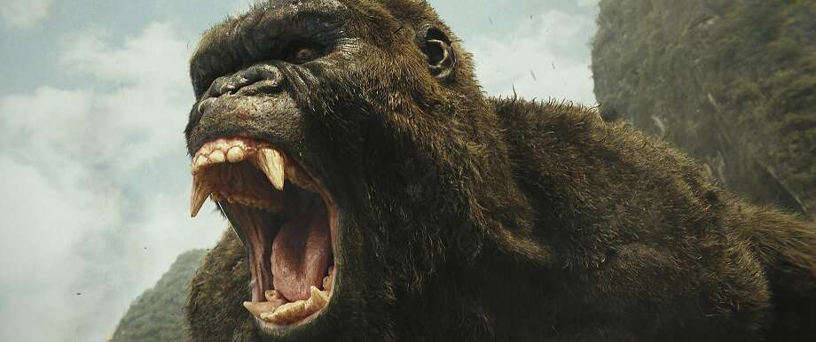 "The titular ape in ""Kong: Skull Island."" Photo: Associated Press"