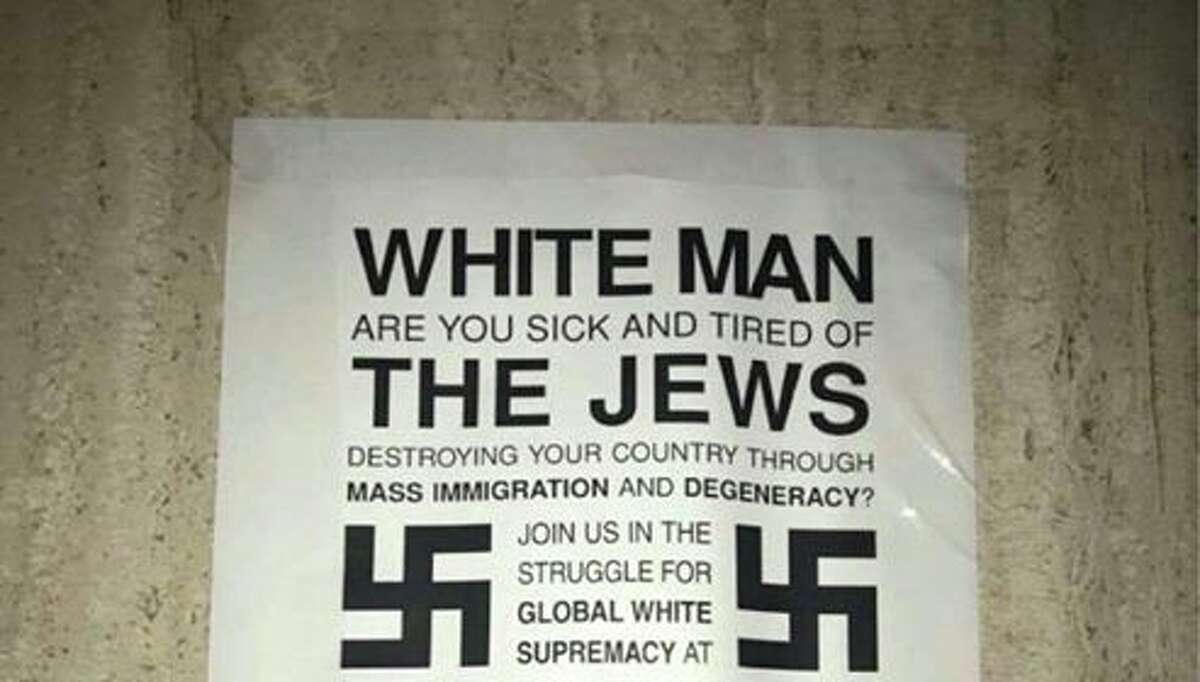 White supremacist materials have been popping up on the campus of Texas State University-San Marcos dating back to at least November 2016. Anti-Semitic fliers were found March 2, 2017.
