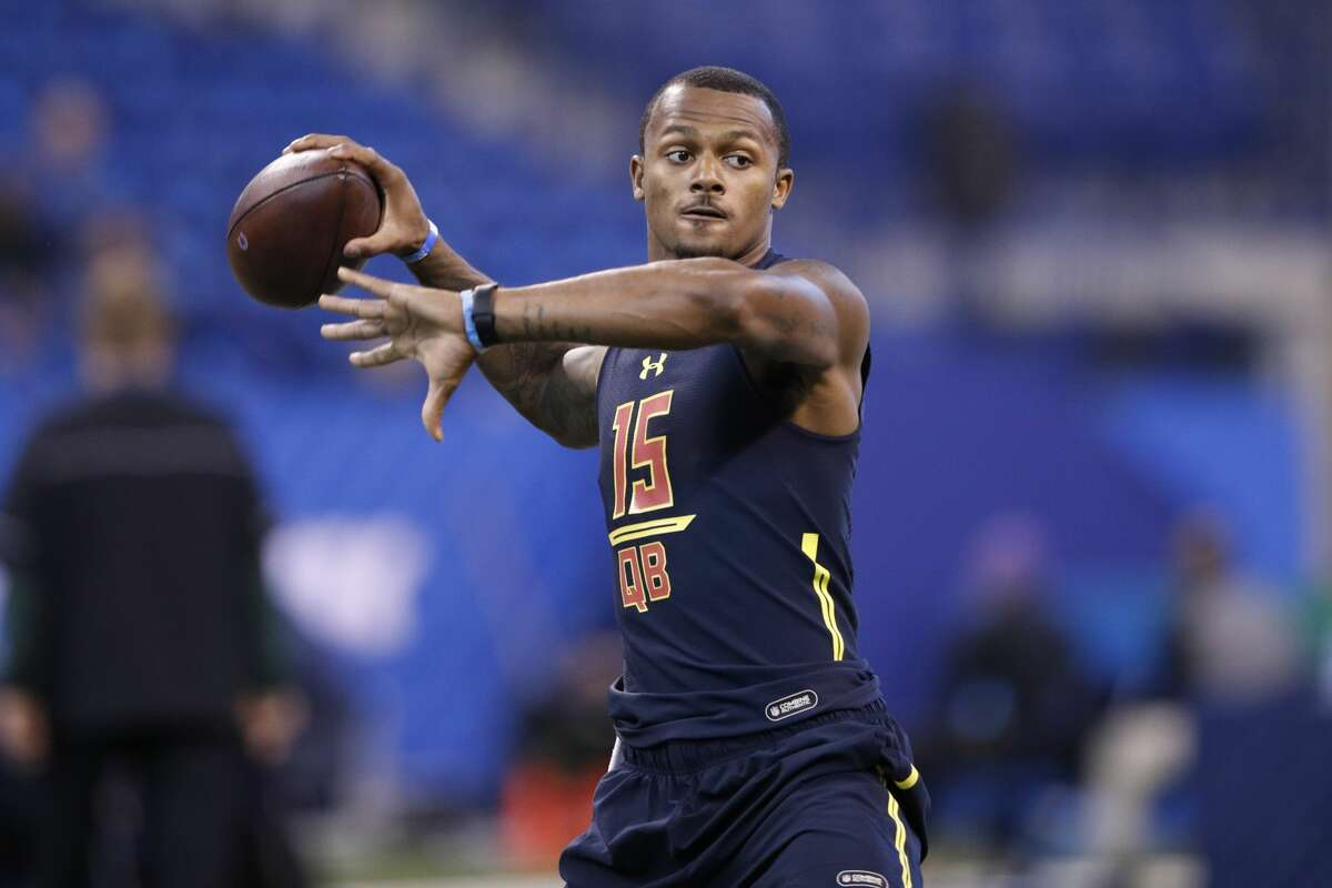 Quarterback Winner: Deshaun Watson, Clemson The athletic signal caller for national-champion Tigers had a great week in Indy, reportedly wowing teams on the field and in the meeting room, according to several reports. Perhaps the most impressive aspect of his game, according to USA Today's Jarrett Bell, was the
