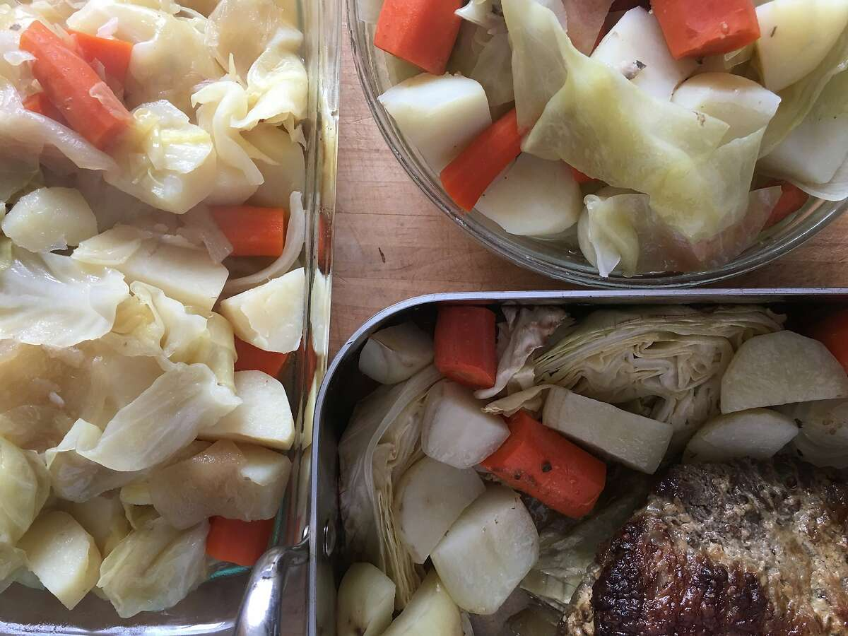 For St. Patrick's Day, The Chronicle's test kitchen tried out three different cooking methods for classic corned beef -- stovetop (boiled), oven-roasted and Instant Pot (electric pressure cooker) -- to see which method we preferred.