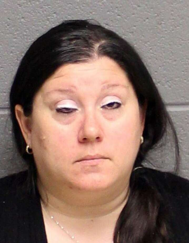 Lisa Nussbaum, of Monroe, was arrested Monday, March 6, 2017 and charged with risk of injury to a minor after she allegedly let her 10-year-old son drive the car. Photo: Contributed Photo / Contributed Photo / Connecticut Post Contributed