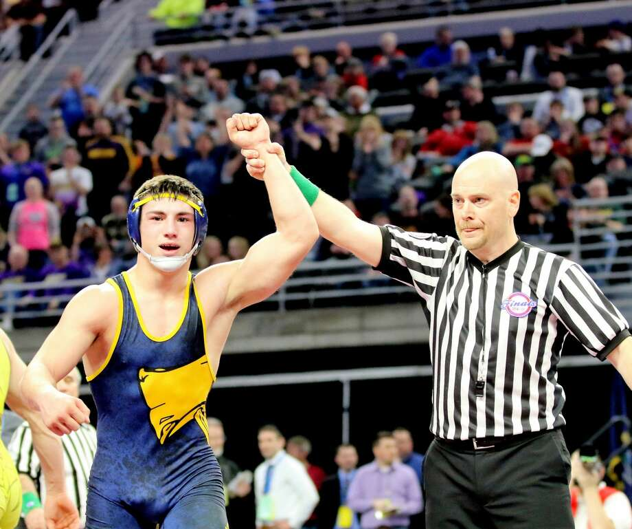 State Wrestling Finals Photo: Luann Parks/For The Tribune