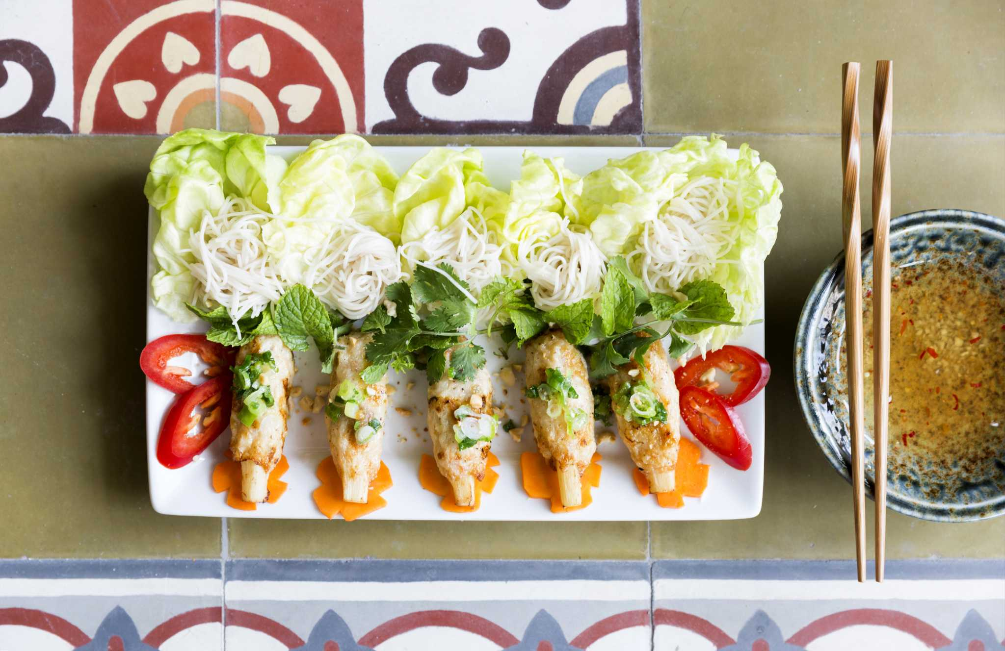 Review: At Le Colonial, inconsistent Vietnamese food meets festive atmosphere