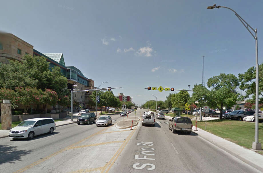 South Frio Street near the UTSA downtown campus. Photo: Google Street View