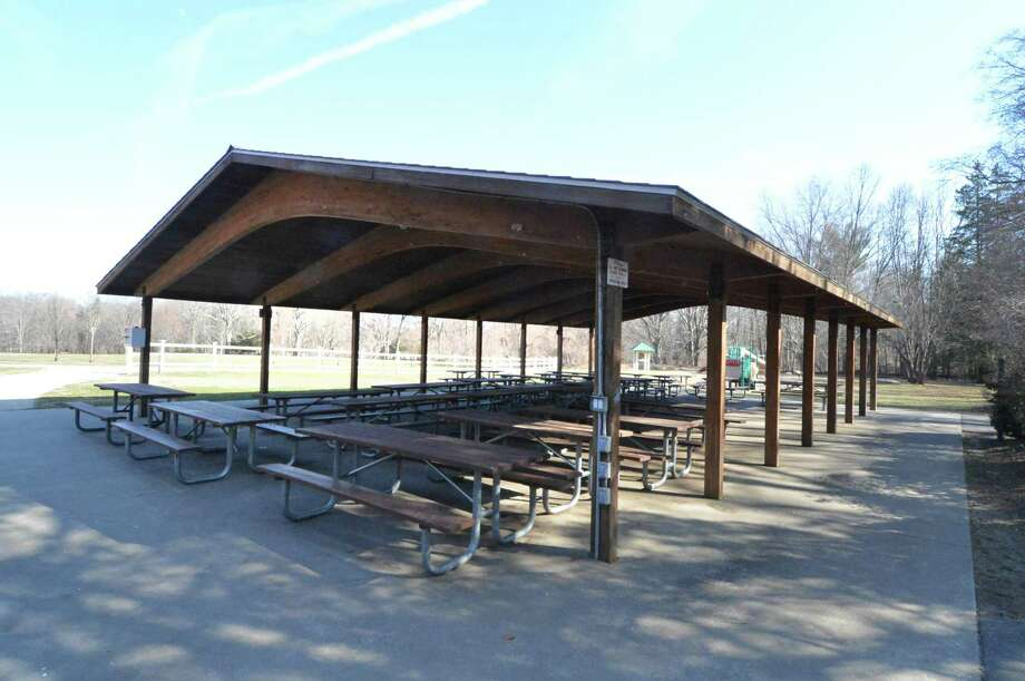 The large pavillion on Monday March 6, 2017, in Norwalk Conn. Fees charged for pavillion use by the Norwalk Parks and Recs department will go up at Cranbury Park. Photo: Alex Von Kleydorff / Hearst Connecticut Media / Norwalk Hour