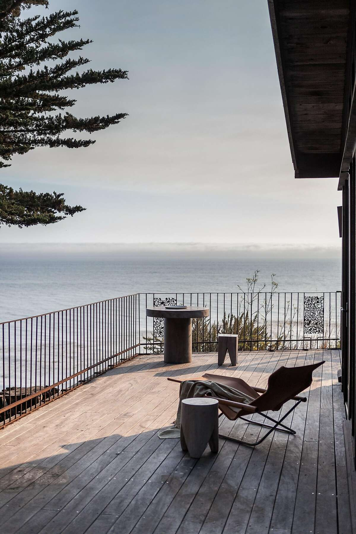 The view from Esalen.