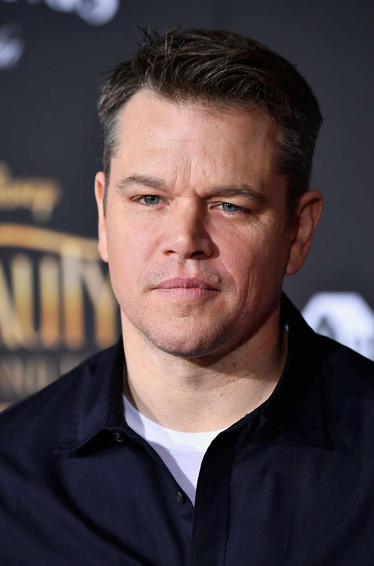 LOS ANGELES, CA - MARCH 02: Actor Matt Damon attends Disney's 'Beauty and the Beast' premiere at El Capitan Theatre on March 2, 2017 in Los Angeles, California. (Photo by Frazer Harrison/Getty Images)