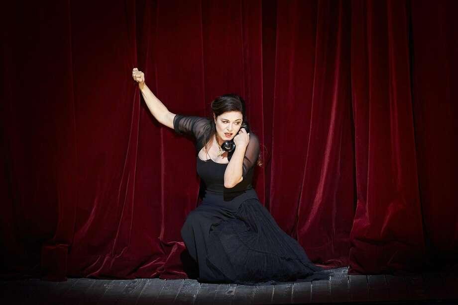 "Soprano Anna Caterina Antonacci performs Poulenc's ""La Voix humaine"" Photo: Pierre Grosbois, PIERRE GROSBOIS"