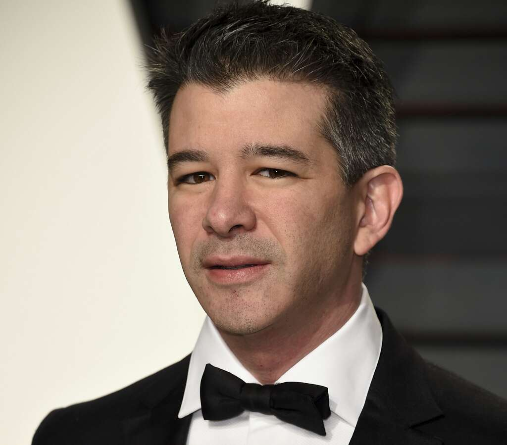 programmers in the valley are pressuring their friends to quit in this file photo uber ceo travis kalanick arrives at the vanity fair oscar party