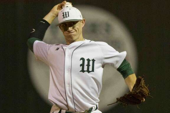 The Woodlands pitcher Devin Fontenot and the rest of the Highlanders will compete in the Wings 'N' More Classic this weekend.