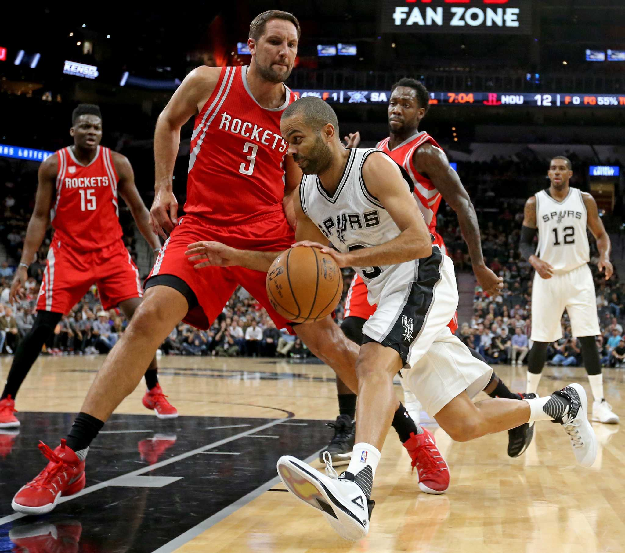 Rejuvenated Tony Parker could give Spurs boost versus Rockets