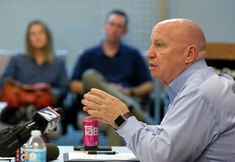 Congressman Kevin Brady, R-The Woodlands, who serves at the House Ways and Means Committee chairman, released legislation Monday to repeal and replace Obamacare through a budget process known as reconciliation. Photo: Jason Fochtman, Staff Photographer / © 2017 Houston Chronicle