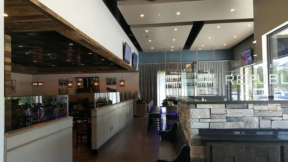 The Republic Grille has opened a second location in The Woodlands area at 30340 FM 2978 at Woodlands Parkway.