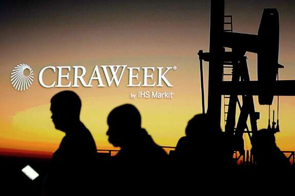 About 3,000 attendees from 60 countries are expected at CERAWeek by IHS Markit, a weeklong energy conference.