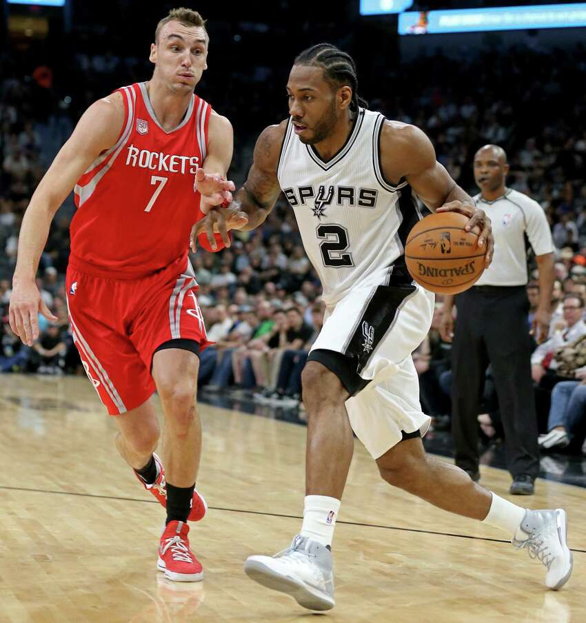 Here are the highlights from Kawhi Leonard's monstrous fourth quarter against the Rockets6:49 - 13-foot step back jumper, 91-96