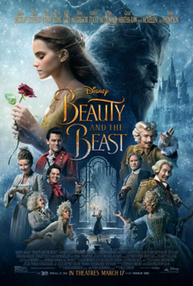 Beauty and the BeastRelease Date: March 17, 2017Starring: Emma Watson, Dan Stevens, Luke Evans, Kevin Kline, Josh Gad,Ewan McGregor, Stanley Tucci, Audra McDonald,Gugu Mbatha-Raw, Ian McKellen and Emma ThompsonRating: PG Photo: Film Poster