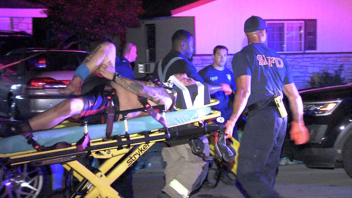 Officers responded to the 4300 block of Sun Vista Lane around 11 p.m., where they found the two victims suffering from multiple gunshot wounds.