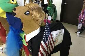 Businesses and organizations went all out in decorating their camel for the 2017 Camel Races, an annual fundraiser for Thumb Industries.