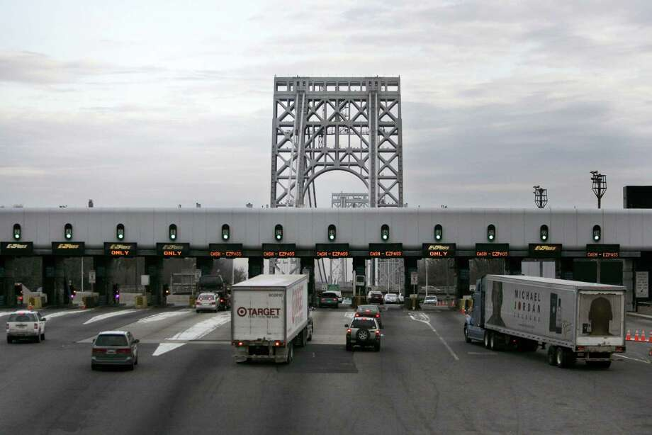 The George Washington Bridge opened in 1931 and expanded to two decks in 1962. Photo: Mary Altaffer / Associated Press / 2008 AP