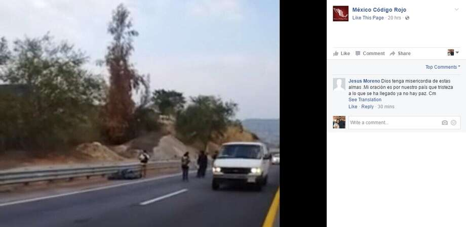 Five people were found dead in Guerrero in southern Mexico March 3, 2017, photos posted by Mexico Codigo Rojo purportedly show. Photo: Facebook Screengrab