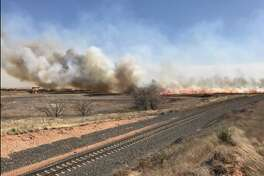 Wildfires threatened the Texas Panhandle.