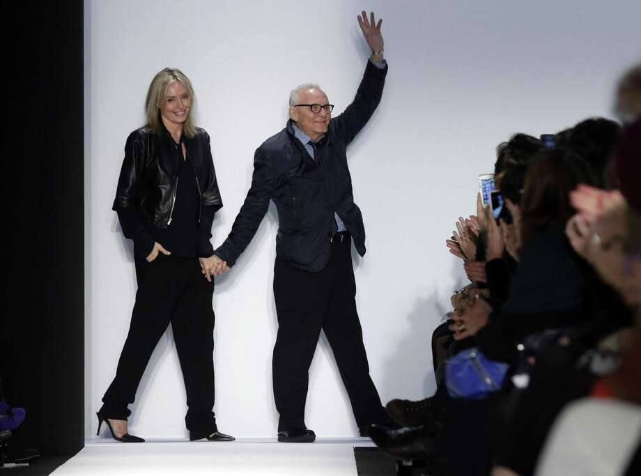 BCBGMaxAxria founder Max Azria and spouse Lubov in February 2013 in New York City. (AP Photo/Richard Drew) Photo: Richard Drew / Associated Press / AP