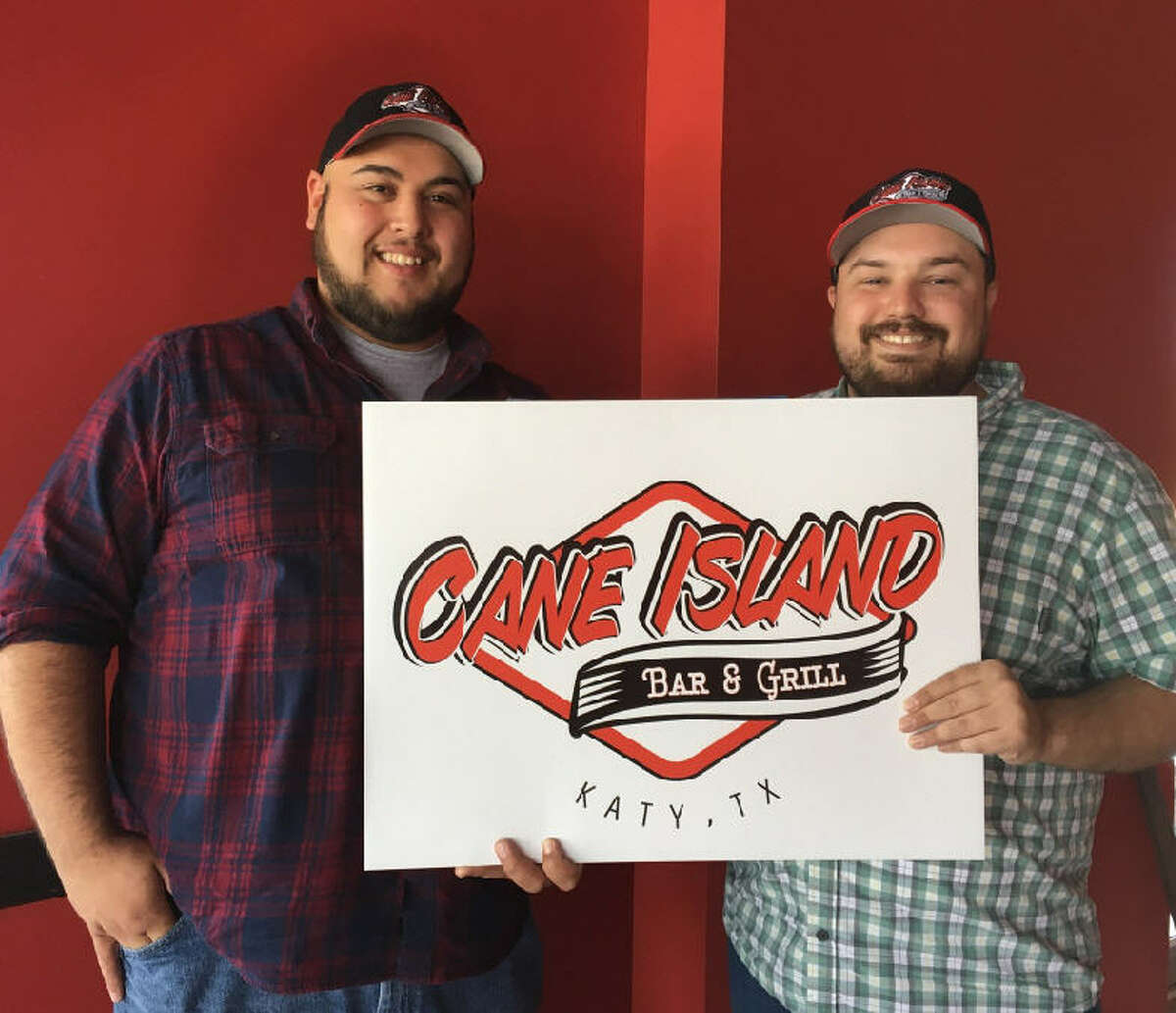 Eliab Olivares, kitchen manager, left, and Patrick DeMarco, owner/general manager, want to open Cane Island Bar & Grill in April.