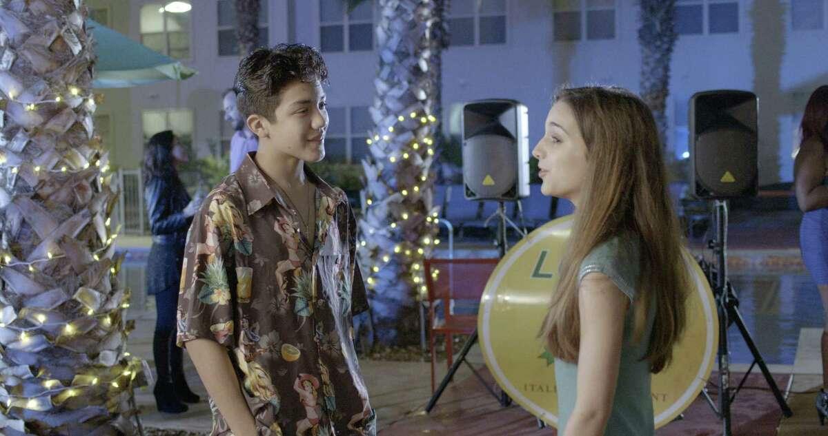 Valeria Jauregui also appeared, opposite singer Sebastien De La Cruz, in the San Antonio-shot movie