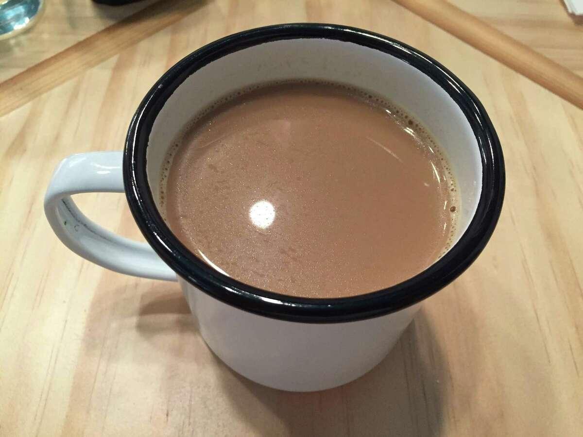 Café au lait from NOLA Brunch & Beignets