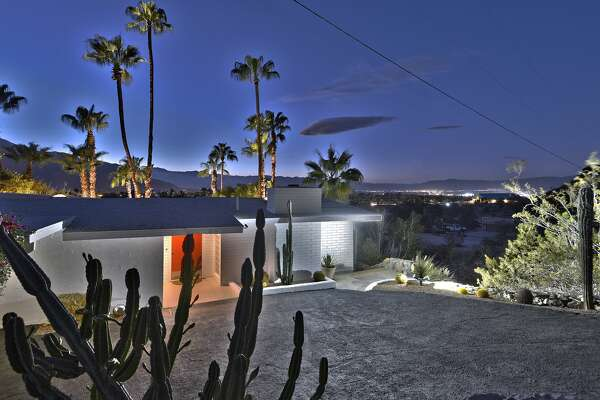 A desert hideaway home once owned by billionaire tycoon and recluse Howard Hughes has gone up for sale in Palm Springs, California nearly 60 years after it was first built. The former Hughes outpost has a price tag of just $1.2 million. The three-bedroom home has been owned by the same family since it was purchased from the Hughes camp in 1977.