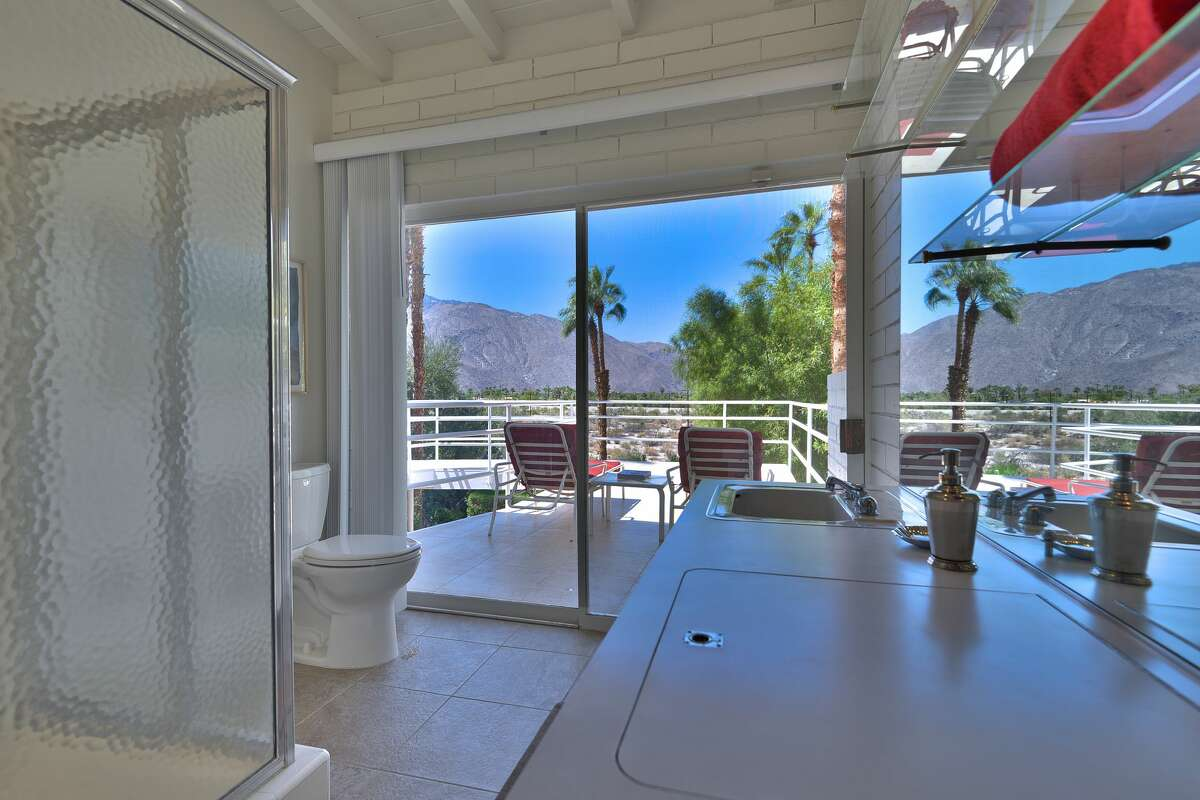 A desert hideaway home once owned by billionaire tycoon and recluse Howard Hughes has gone up for sale in Palm Springs, California nearly 60 years after it was first built. The former Hughes outpost has a price tag of just $1.35 million. The three-bedroom home has been owned by the same family since it was purchased from the Hughes camp in 1977.
