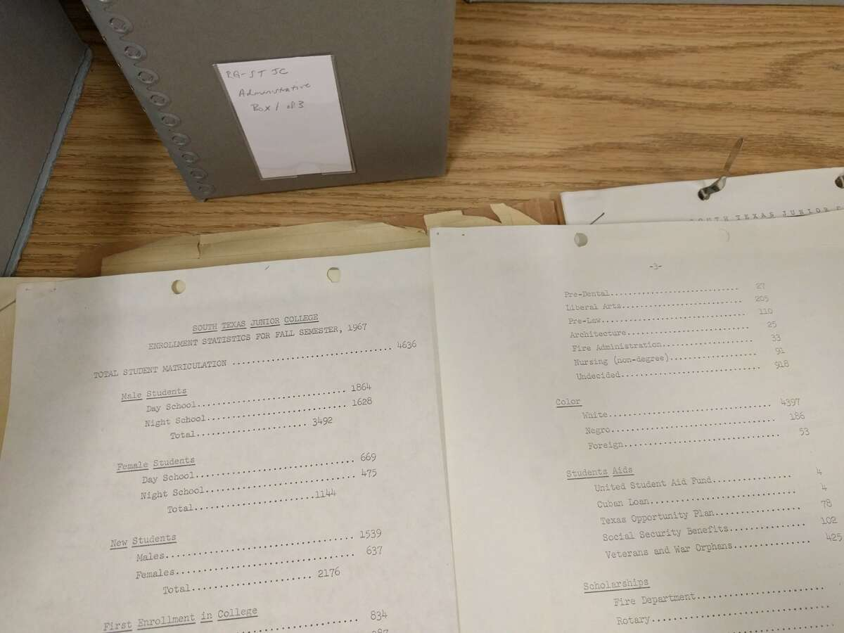 The registrar's documents listed STJC students by gender, marriage status, even job, but it made no mention of race or country of origin in an attempt to avoid the conversation of integration.