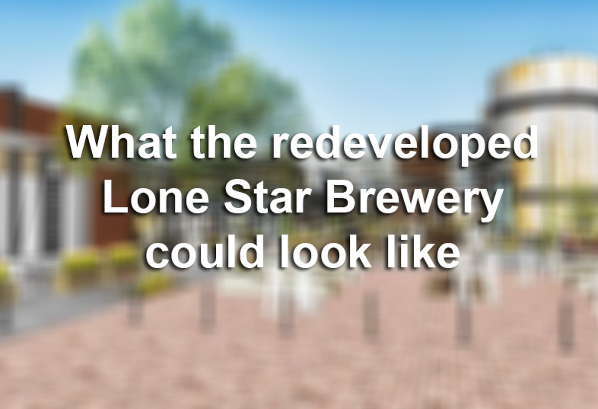 Click ahead to see how the redeveloped Lone Star Brewery was imagined before plans were scrapped.