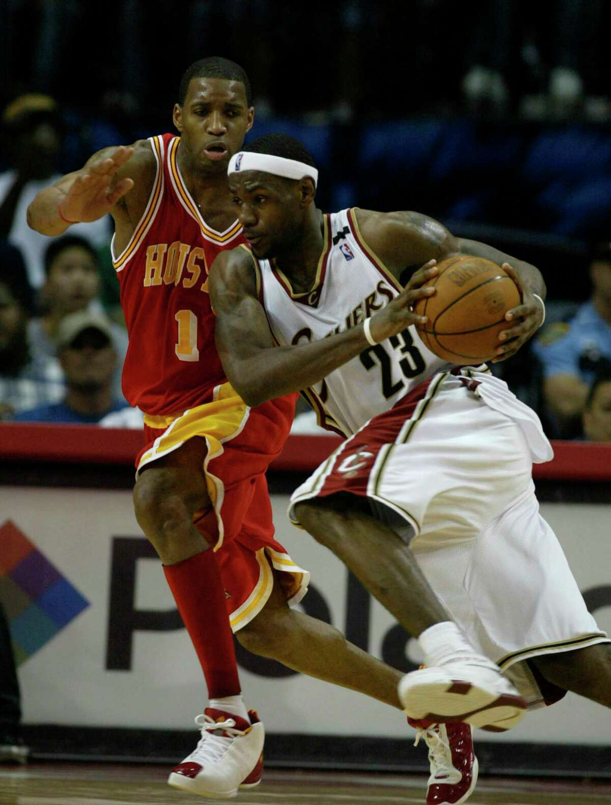 March 24, 2005: Rockets 99, Cavaliers 80 Points: 19 Rebounds: 4 Assists: 8