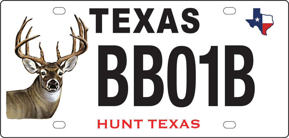 The Texas Parks and Wildlife announced March 6, 2017 new license plates will be available in April 2017. Photo: Courtesy/Texas Parks And Wildlife Department