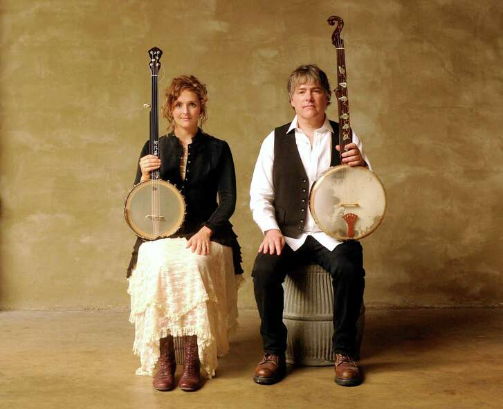 Banjo-playing spouses Abigail Washburn and Béla Fleck joined forces after building strong musical careers on their own.