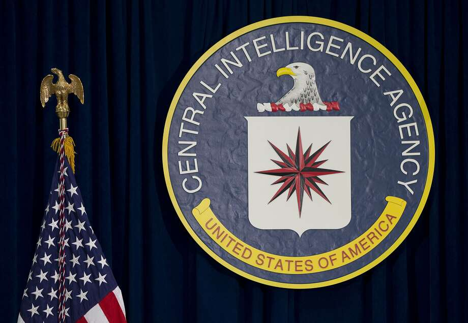 FILE - This April 13, 2016, file photo shows the seal of the Central Intelligence Agency at CIA headquarters in Langley, Va. An alleged CIA surveillance program disclosed by WikiLeaks on Tuesday, March 7, 2017, purportedly targeted security weaknesses in smart TVs, smartphones, personal computers and even cars, and enabled snooping that could circumvent encryption on communications apps such as Facebook's WhatsApp. WikiLeaks is, for now, withholding details on the specific hacks used. But WikiLeaks claims that the data and documents it obtained reveal a broad program to bypass security measures on everyday products. (AP Photo/Carolyn Kaster, File) Photo: Carolyn Kaster, Associated Press