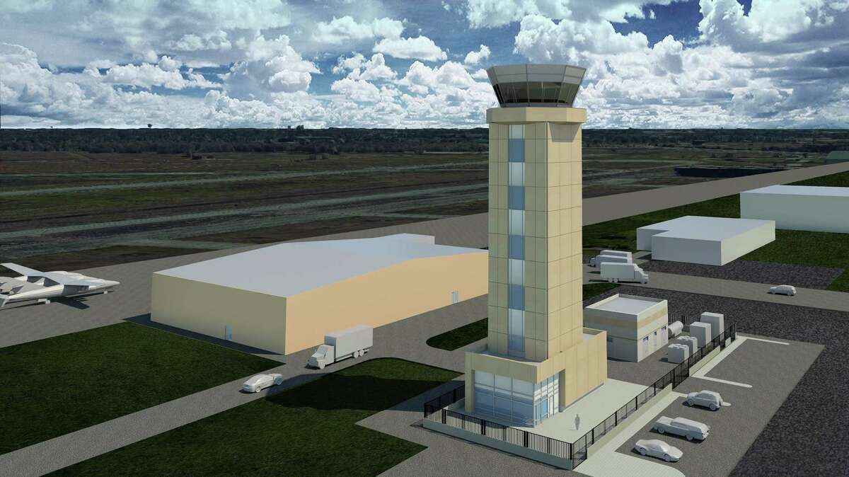 A rendering shows the proposed new tower.