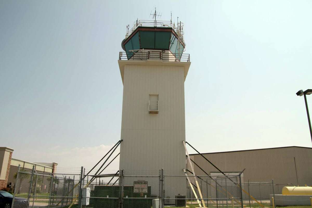 The current control tower at Ellington Airport will be demolished once the new one is built.