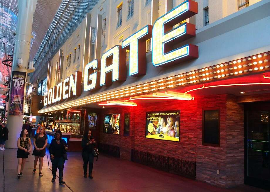 The Golden Gate in Downtown Las Vegas is one of the few places remaining where the Rat Pack would go to drink after gigs. Photo: Spud Hilton, The Chronicle