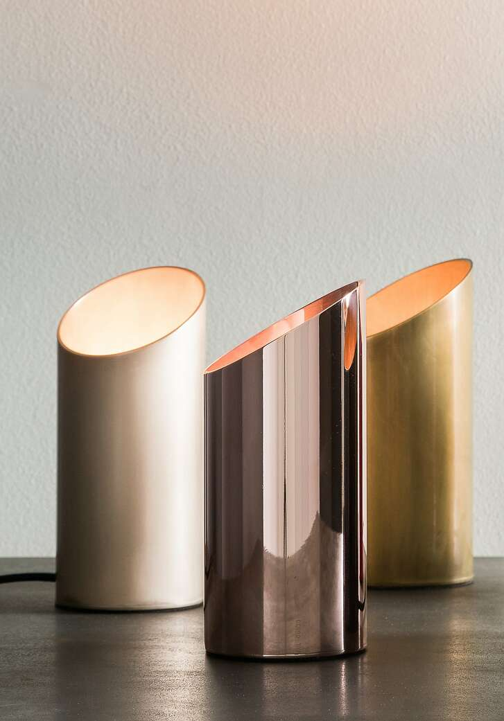 Jackson Accent Lamp from Robert Long Lighting comes in various colors and finishes.