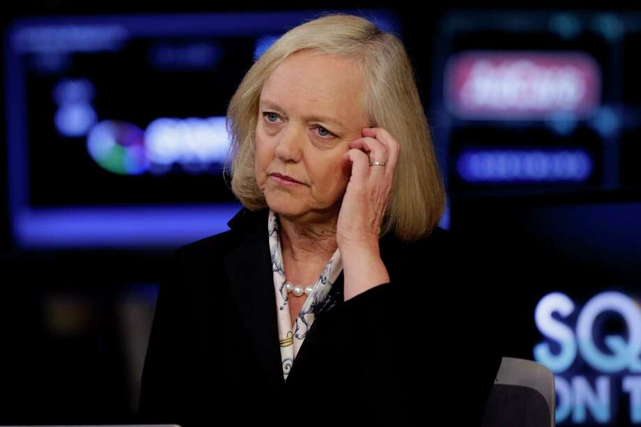 CEO Meg Whitman is spending more on acquisitions for Hewlett Packard Enterprise.  Photo: Richard Drew, STF / AP