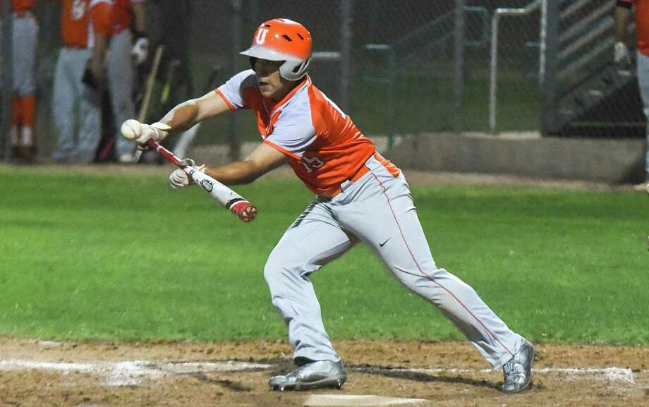United sophomore outfielder Julio Taboada is the 2017 LMT All-City Newcomer of the Year. Taboada was a steady fixture in the lineup despite his inexperience hitting .304 with 31 runs and 24 RBIs. Photo: Danny Zaragoza / Laredo Morning Times / Laredo Morning Times