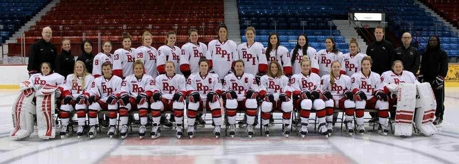 The RPI women's hockey team 2016-17. (RPI photo) Photo: RPI
