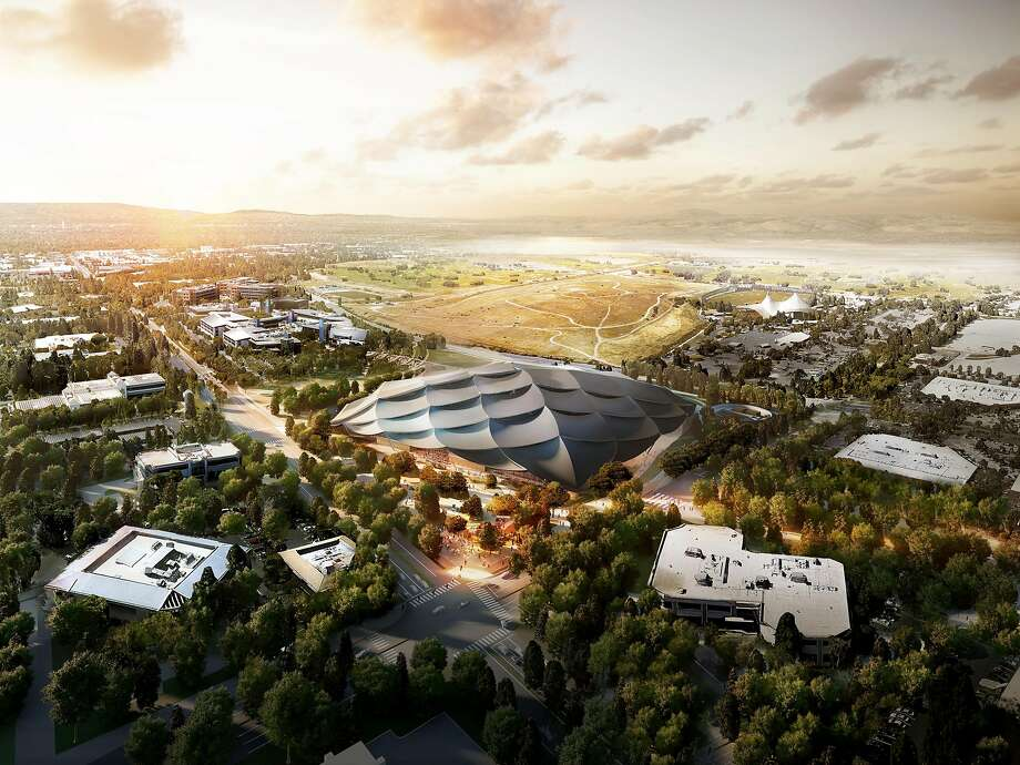 A rendering of Google's Charleston East campus. Photo: Google
