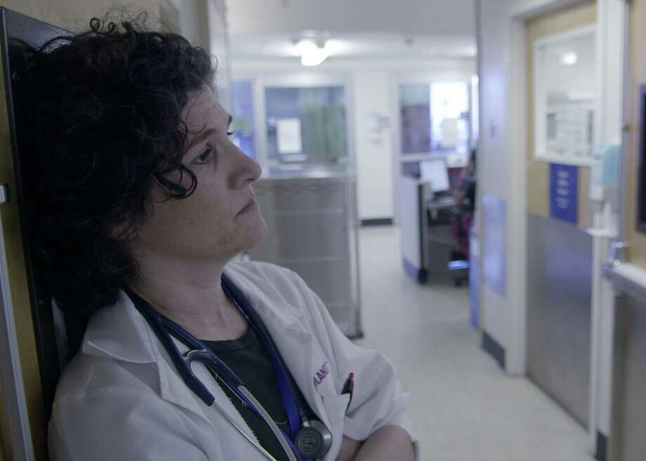"Writer Dr. Jessica Zitter confronts the most difficult of decisions with patients and their families every day. (From ""Extremis,"" nominated for best documentary-short subject at this year's Oscars.) Photo: Courtesy Dan Krauss / Online_yes"