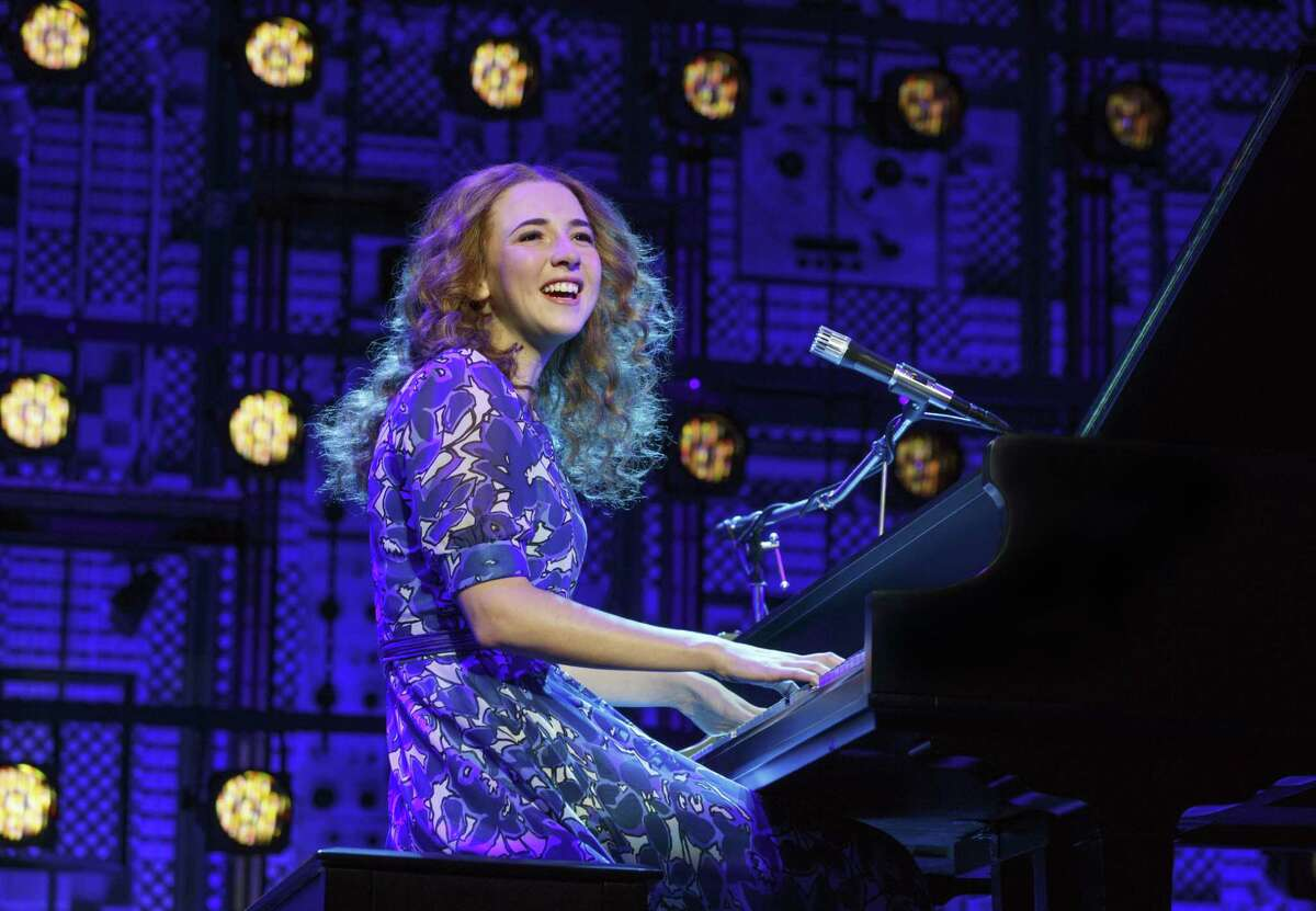 Julia Knitel plays Carole King in the touring production of Beautiful,