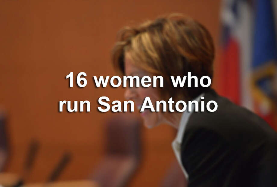 Click through the gallery to view the 16 women who run San Antonio.